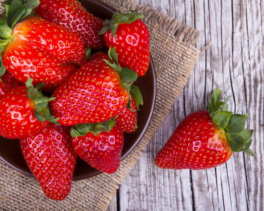 căpșunile ajută la arderea grăsimilor